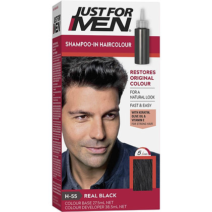 Just For Men Hair Colour Real Black 100g