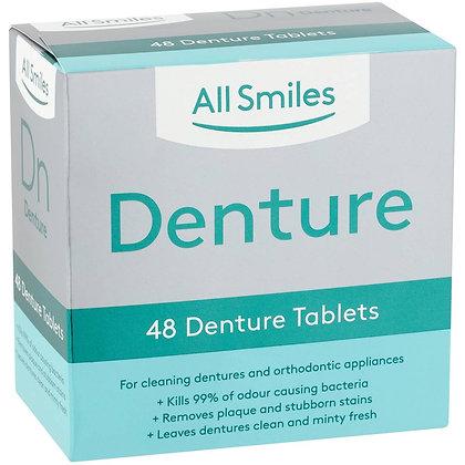 All Smiles Denture Tablets 48 pack