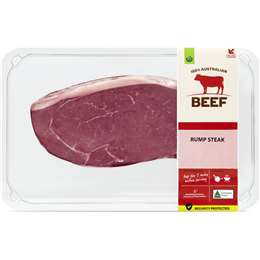 Beef Rump Steak Medium 350g - 750g