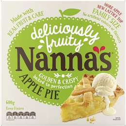 Nannas Apple Pie 600g
