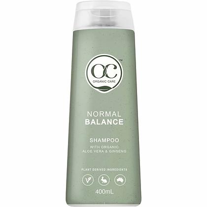 Organic Care Shampoo Normal Balanced 400ml