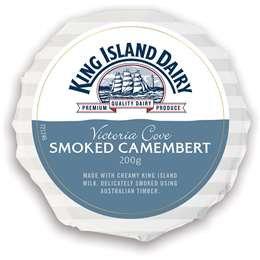 King Island Dairy Victoria Cove Smoked Camembert 200g