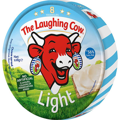 Laughing Cow Cheese Light 128g