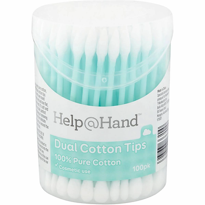 Help@hand Cotton Dual Tips 100 pack