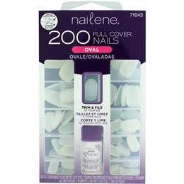 Nailene Oval Nail Kit 200 each
