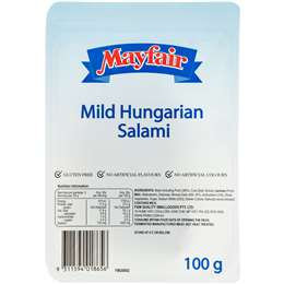 Mayfair Hungarian Salami Mild 100g