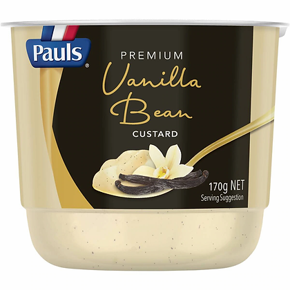 Pauls Premium Vanilla Bean Custard 170g