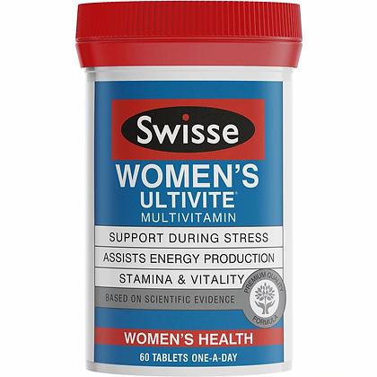 Swisse Ultivite Women's Tablets F1 60 pack