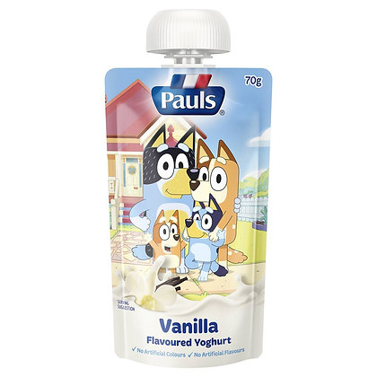 Pauls Kids Yoghurt Pouch Vanilla 70g