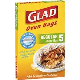 Glad Oven Bag Regular Regular 5 pack