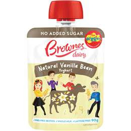 Brownes Wiggles Vanilla Bean Lactose Free 90g
