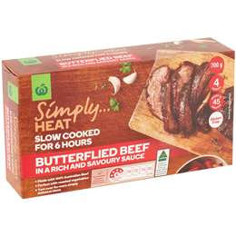 Simply Heat Butterflied Beef 700g