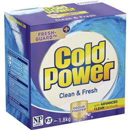 Cold Power Clean & Fresh Odour Fighter Laundry Powder 1.8kg