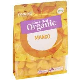 Macro Organic Frozen Mango 450g