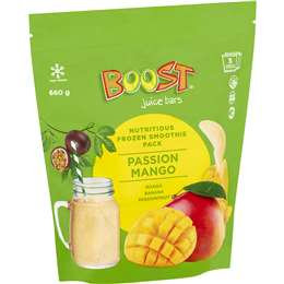 Boost Smoothie Mix Passion Mango 3 pack