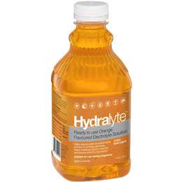 Hydralyte Electrolyte Solution Orange 1l
