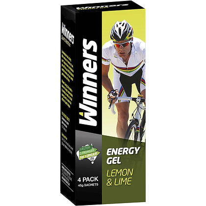 Winners Sports Nutrition Energy Gel Lemon & Lime 160g
