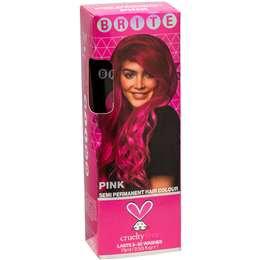 Brite Organix Semi Permanent Hair Colour Pink 75ml