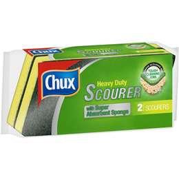Chux Heavy Duty Scourer Sponge 2 pack