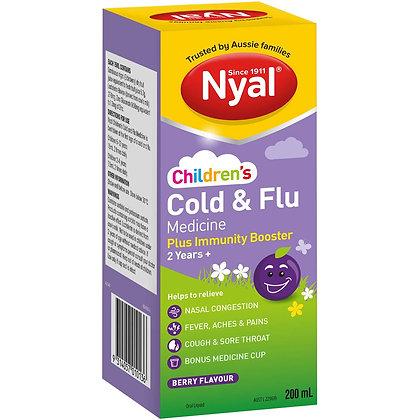 Nyal Children's Berry Cold & Flu Immunity Booster 2yrs+ 200ml