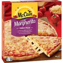 Mccain Pizza Margherita 500g