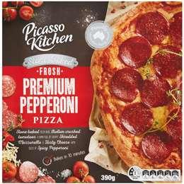 Picasso Kitchen Fresh Pizza Pepperoni 390g