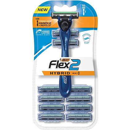 Bic Flex 2 Hybrid Shaver 10 pack