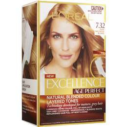 L'oreal Paris Excellence Age Perfect Very Light Blonde 7.32 each