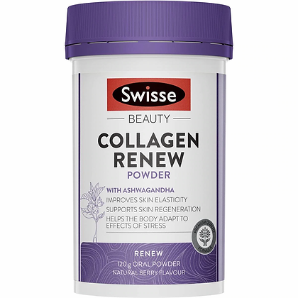 Swisse Beauty Collagen Renew Powder Natural Berry 120g