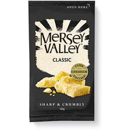 Mersey Valley Extra Tasty Cheese 180g