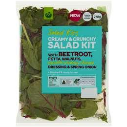 Woolworths Creamy & Crunchy Salad Kit 270g