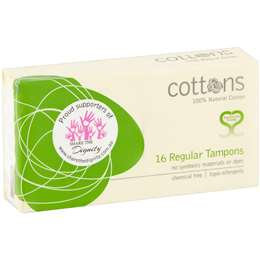 Cottons Tampons Regular 16 pack