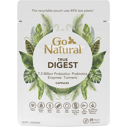 Go Natural Digestion Capsules 30 pack