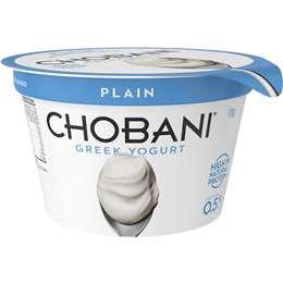 Chobani Plain Greek Yoghurt No Fat 170g