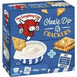 Laughing Cow Cheese And Crackers 40g