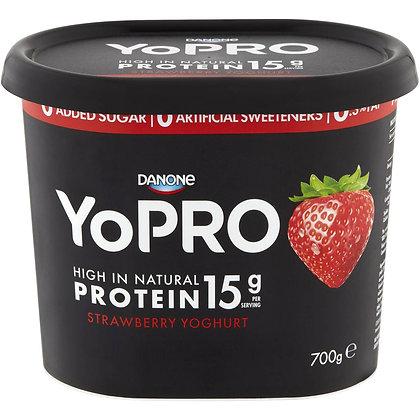 Danone Yopro Strawberry Yoghurt 700g