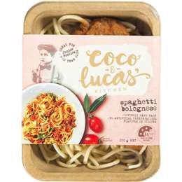 Coco & Lucas' Spaghetti Bolognese 220g