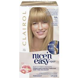 Clairol Nice'n Easy Repair Light Ash Blonde 9a each