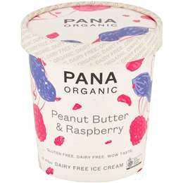 Pana Peanut Butter & Raspberry Jam 475ml