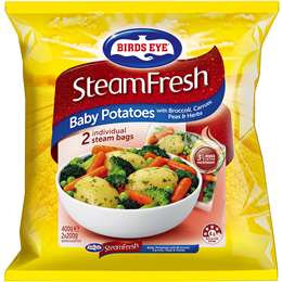 Birds Eye Steam Potato & Broccoli 400g
