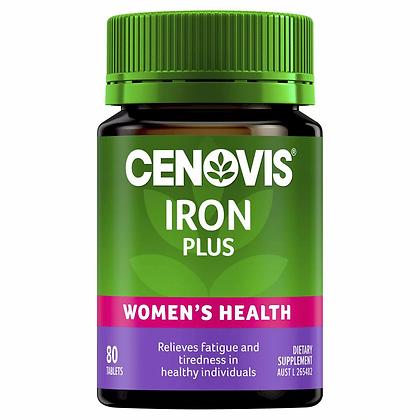 Cenovis Iron Plus Tablets 80 pack