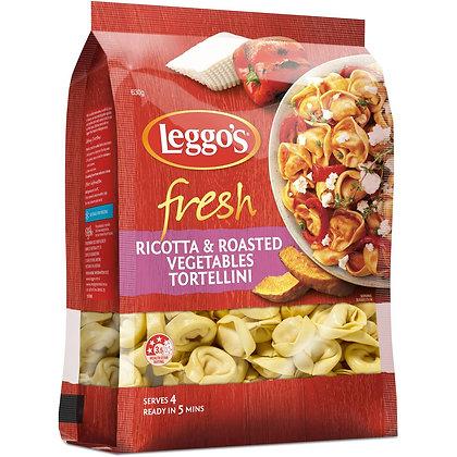 Leggos Tortellini Ricotta & Roast Veg 630g