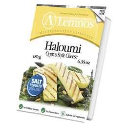 Lemnos Haloumi Salt Reduced 180g