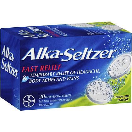 Alka-seltzer Lemon-lime Effervescent Tablets 20 pack