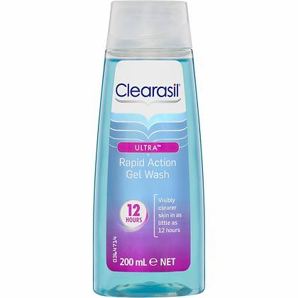Clearasil Ultra Facial Cleanser Deep Pore Gel Wash 200ml