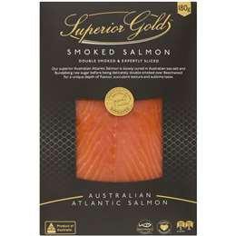 Superior Gold Salmon Smoked 180g
