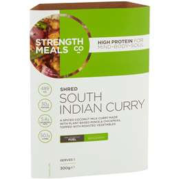 Strength Meals Co Shred South Indian Curry 300g