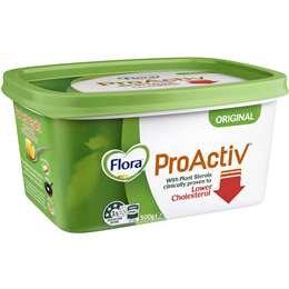 Flora Pro-activ Margarine Original Spread 500g