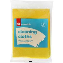 Essentials Cleaning Cloth 2 pack