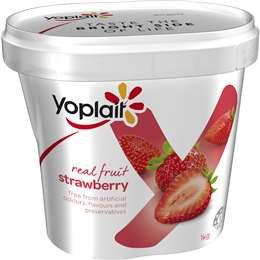 Yoplait Strawberry Yoghurt 1kg